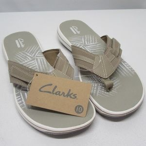 BNWT! Clark's Size 10 Mens Graystone Sandals